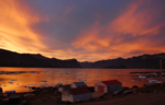 Sunset in Pangnirtung July